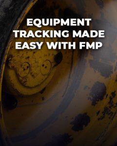 Equipment tracking.