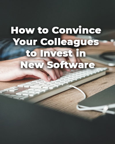 Invest in New Software