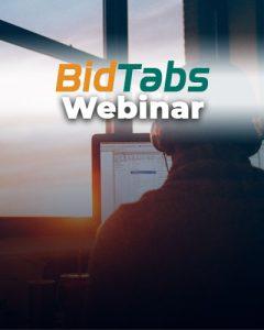 BidTabs Webinar
