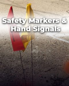 Safety and markers